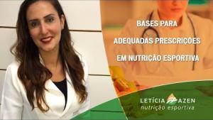 Embedded thumbnail for Bases para Adequadas Prescrições em Nutrição Esportiva