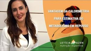 Embedded thumbnail for Vantagem da Calorimetria para estimativa do metabolismo em repouso