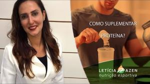 Embedded thumbnail for Como suplementar proteína