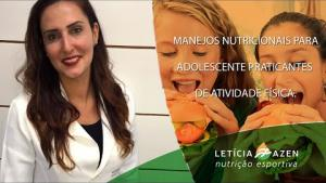 Embedded thumbnail for Manejos nutricionais para adolescente praticantes de atividade física