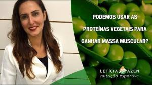Embedded thumbnail for Podemos usar as Proteínas Vegetais para Ganhar Massa Muscular?